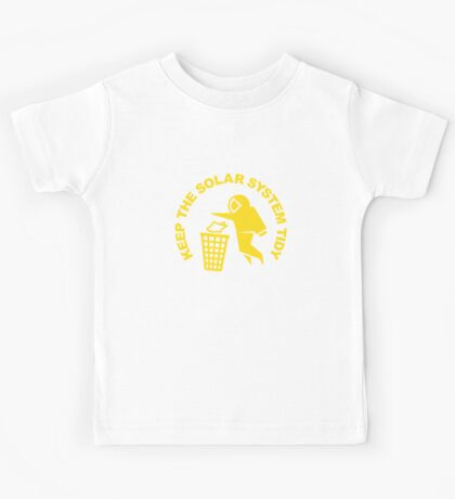 Keep the Solar System Tidy - Yellow Kids Clothes