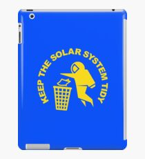 Keep the Solar System Tidy - Yellow iPad Case/Skin