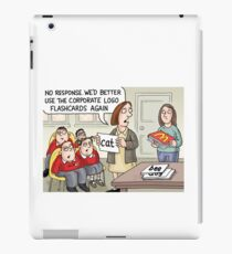 Corporate Flashcards iPad Case/Skin
