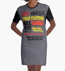 Tarantino Graphic T-Shirt Dress