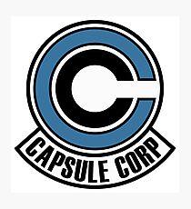 capsule corp bro Photographic Print