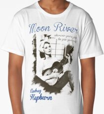 Audrey Hepburn Long T-Shirt