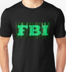 FBI Digital Matrix Unisex T-Shirt