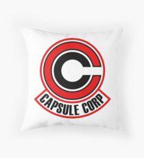 corp capsule Throw Pillow