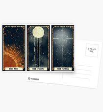 Sun / Moon / Stars Postcards