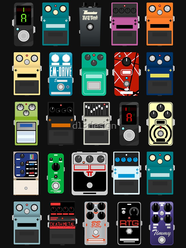 Pedal Board #2 by d13design