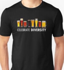 Celebrate Beer Diversity Funny Unisex T-Shirt