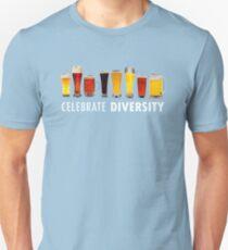 Celebrate Beer Diversity Funny Unisex T-Shirt