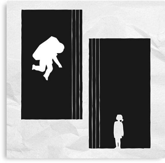 Interstellar - Father - Black - Daughter by bespired