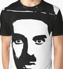 Famous Moustache Graphic T-Shirt