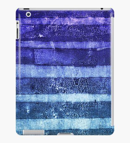 monoprint stripes 2 iPad Case/Skin