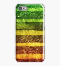 monoprint stripe iPhone Case/Skin