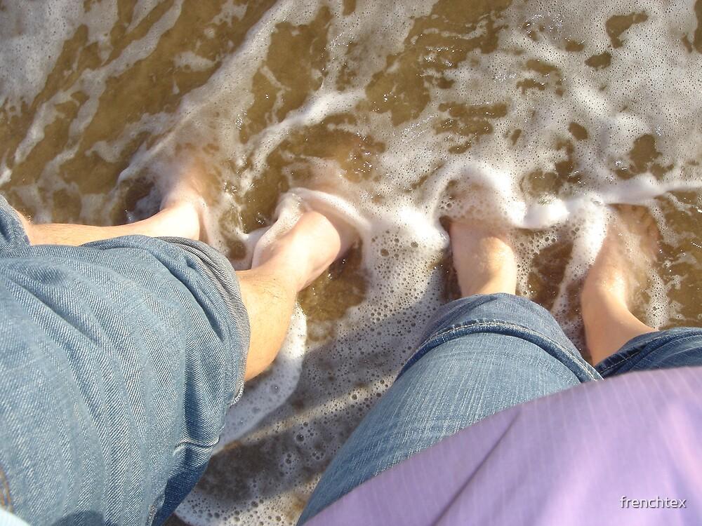 Feet in the Mediterranean Sea by frenchtex