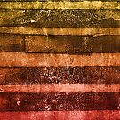 monoprint stripes 4 by frederic levy-hadida