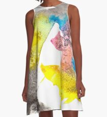 Abstract II A-Line Dress