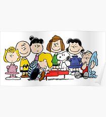 Peanuts, Charlie Brown, Snoopy Poster