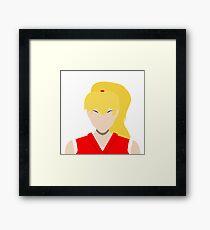 Maki Vector Framed Print