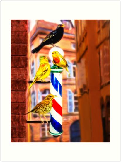 Barbershop Quartet by DigitalandPhoto