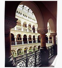 Rochester, NY Rathaus-Atrium Poster