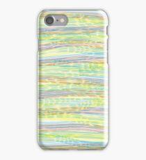 horizontal lines iPhone Case/Skin