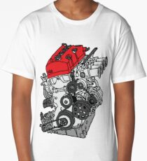 Honda S2000 F20C Engine Long T-Shirt