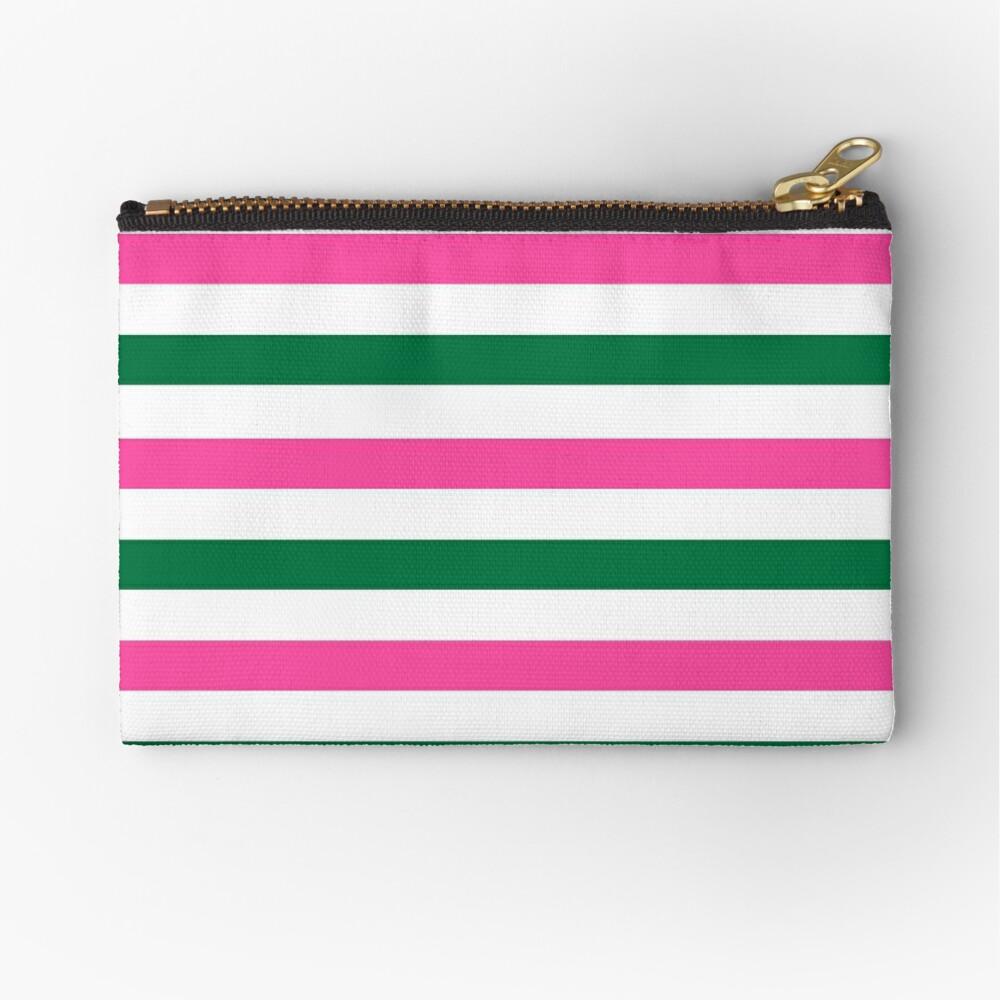 Deckchair Stripes Zipper Pouch
