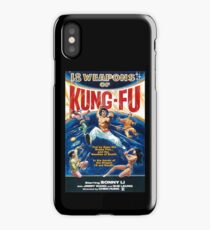 KUNG FU, 18 weapons of Kung Fu iPhone Case/Skin