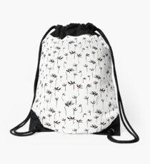 Flowering ink Drawstring Bag
