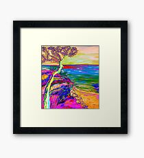 Looking out to sea. Framed Print