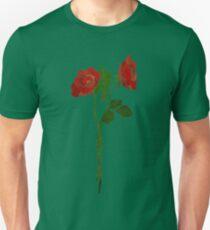 2 dark roses Unisex T-Shirt