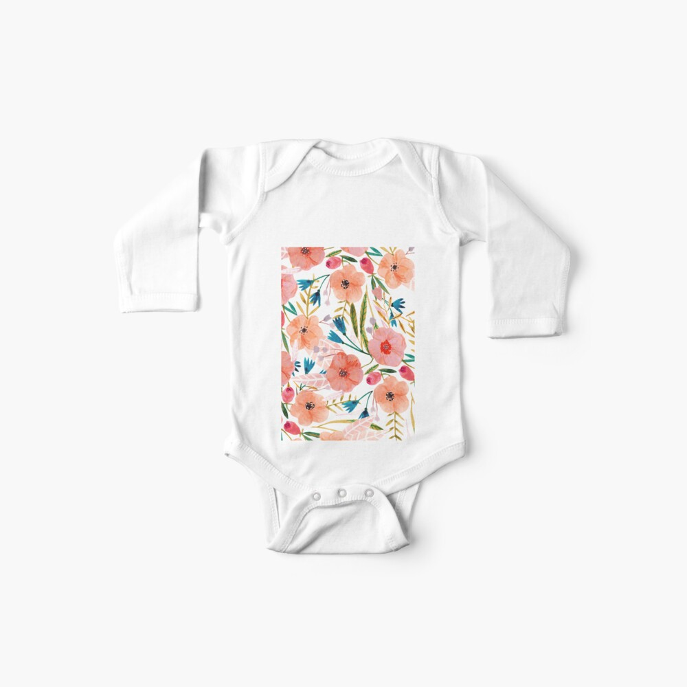 Floral Dance Baby One-Piece