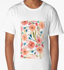 Floral Dance Long T-Shirt