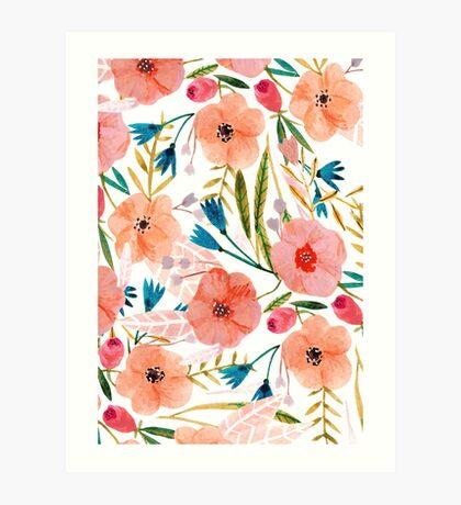 Floral Dance Art Print