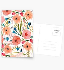 Floral Dance Postcards