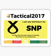 Vote SNP Tactically Sticker