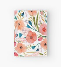 Floral Dance Hardcover Journal