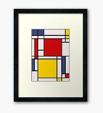 Mondrian Framed Print