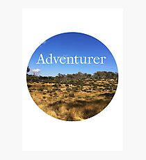 Adventurer Photographic Print