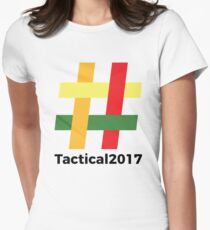 Tactical 2017 Logo Womens Fitted T-Shirt