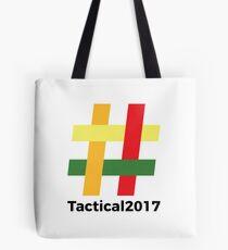 Tactical 2017 Logo Tote Bag