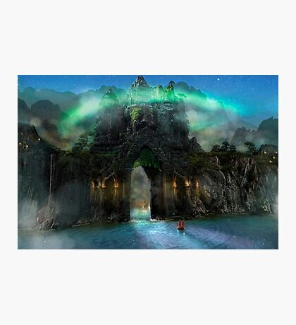 The Jade Gates Photographic Print