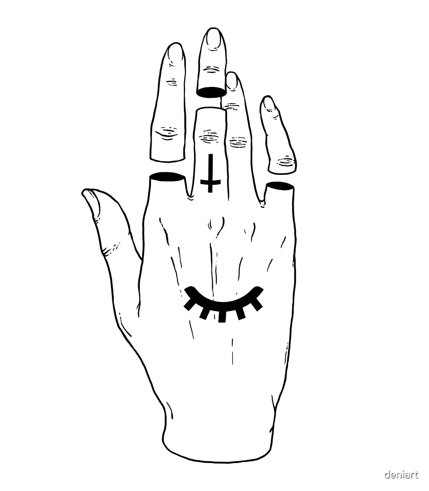 Occult Hand by deniart