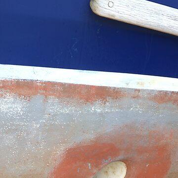 Dry dock boat hull by MagsArt