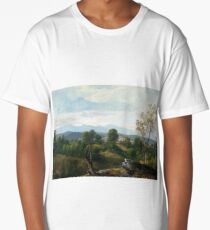 Asher Brown Durand A View of the Valley Long T-Shirt