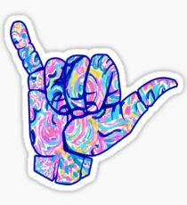 Shaka Bright Multicolor Sticker