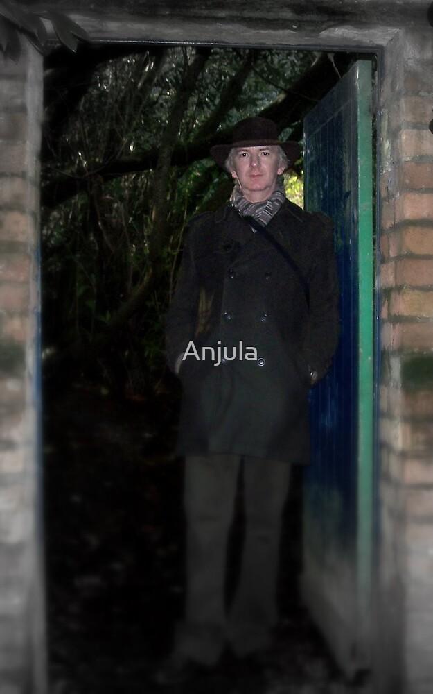 Waiting at the gate by Anjula