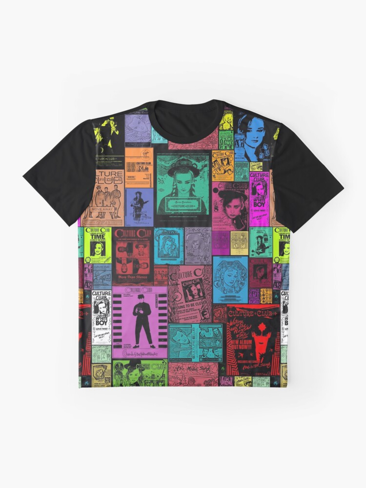 Alternate view of Culture Club - Ad Culture Graphic T-Shirt