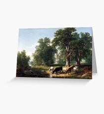 Asher Brown Durand Summer Afternoon Greeting Card