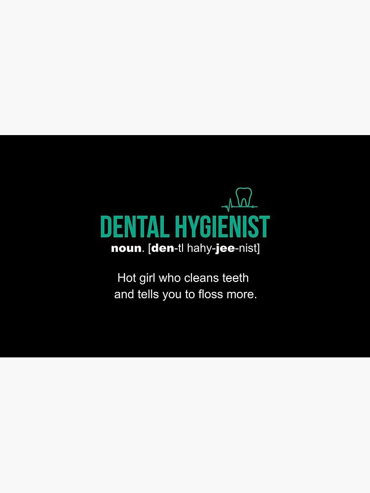 Regalo divertido de la definición del higienista dental de LazyGreyBear