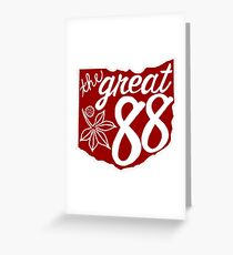 OHIO is Great! W/R Greeting Card